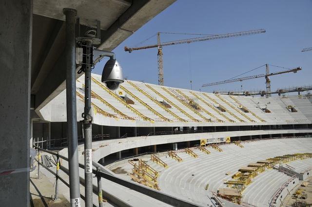 Kamera CCTV Pansonika na Stadionie Narodowym w Warszawie
