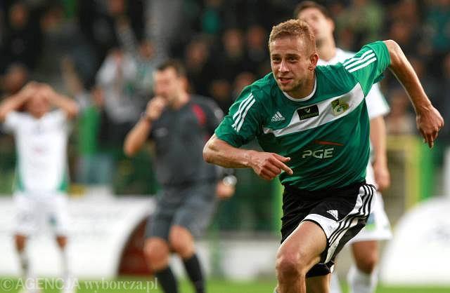 5. kolejka. GKS - Lechia 1:0. Janusz Gol