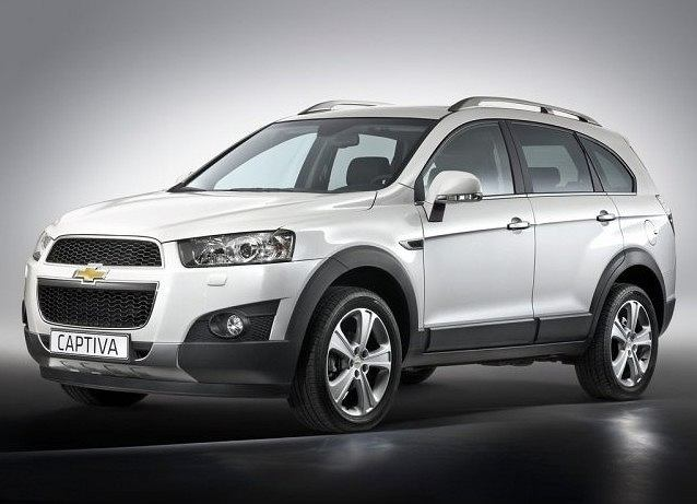 Chevrolet Captiva 2010 face-lifting