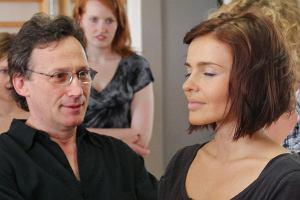 Edyta Herbuś porzuciła taniec na rzecz aktorstwa. Zgłosiła się na warsztaty Bernarda Hilla.