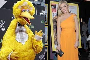 Martyna Wojciechowska na imprezę National Geographic przyszła ubrana cała na żółto do tego blond włosy i nam przypominała Wielkiego Ptaka z ulicy Sezamkowej. A według was w żółtym jej do twarzy?