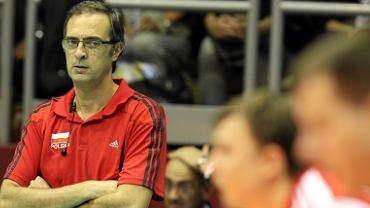 Daniel Castellani podczas meczu z Serbią na ME