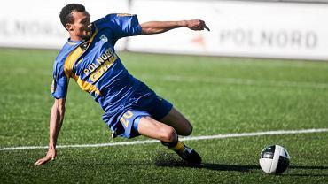 8. kolejka. Arka - Polonia W. 0:0. Emil Noll