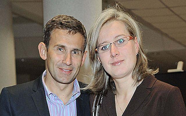 Robert Korzeniowski z żoną Agnieszką Korzeniowską.