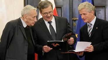 Tadeusz Mazowiecki, Bronisław Komorowski i Roman Kuźniar