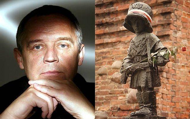 Marek Kondrat o powstaniu warszawskim i pomniku Małego Powstańca: to obraza.