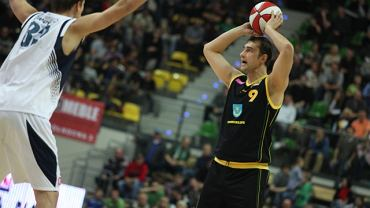 Marek Miszczuk (Siarka) w meczu z Zastalem