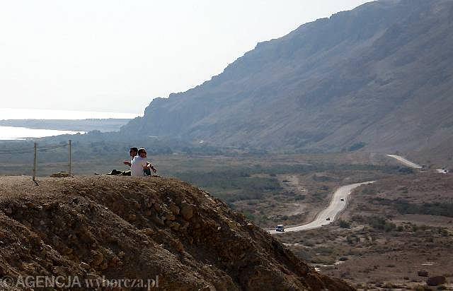 Qumran nad Morzem Martwym.