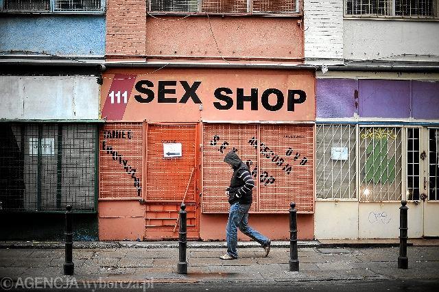Sex-shopy w pawilonach przy Zielnej