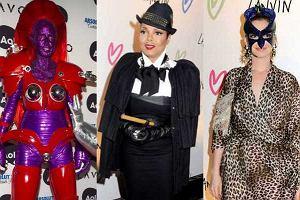 W tym roku gwiazdy na Halloweenowe przyjęcia postawiły na baaardzo efektowne kostiumy. Zobaczcie kto się za kogo przebrał, a kto się przebierać nie musiał.