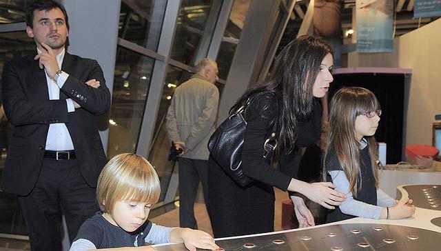 Piątkowe otwarcie Centrum Kopernika było ogromnym wydarzaniem. Specjalnie na nie z Gdańska przyjechała Marta Kaczyńska z rodziną.