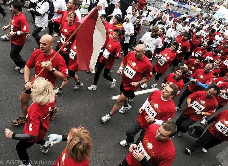 Bieg Niepodległości w Warszawie - czy pobiegnie zapowiadane 15 tys. osób?