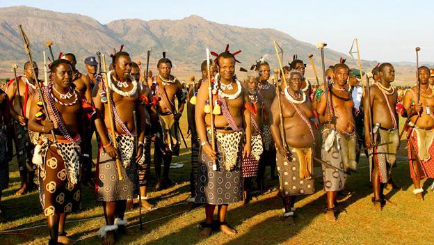 Suazi - Mswati III