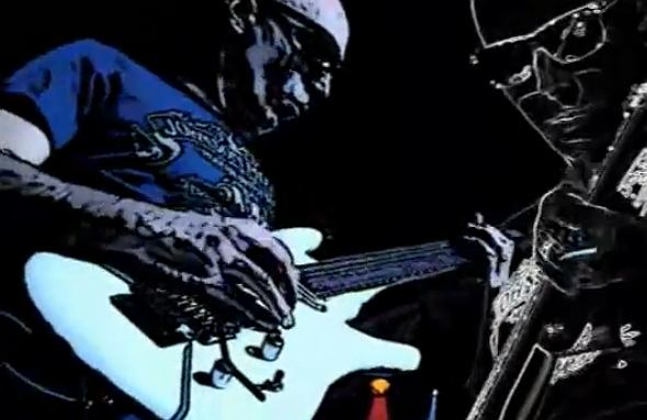 Joe Satriani, kadr z klipu
