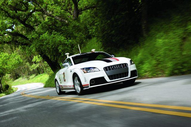 Autonomiczne Audi TT
