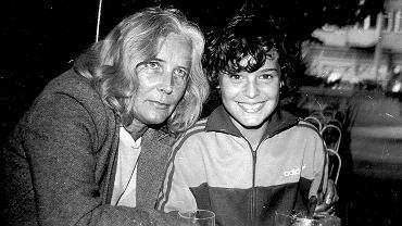 Agnieszka Osiecka (po lewej) i jej córka Agata Passent