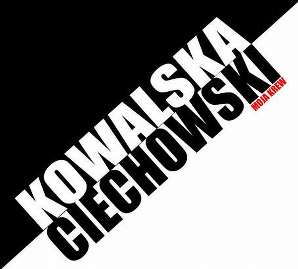 Kasia Kowalska - Moja krew / okładka płyty