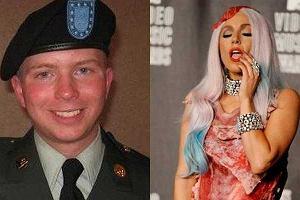 Lady Gaga i Bradley Manning
