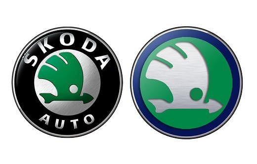 Nieoficjalna wersja nowego logo Skody z grudnia 2010