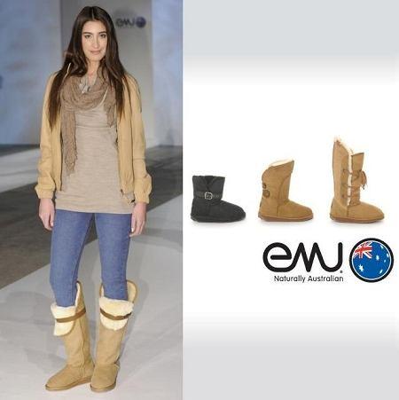 Buty Emu