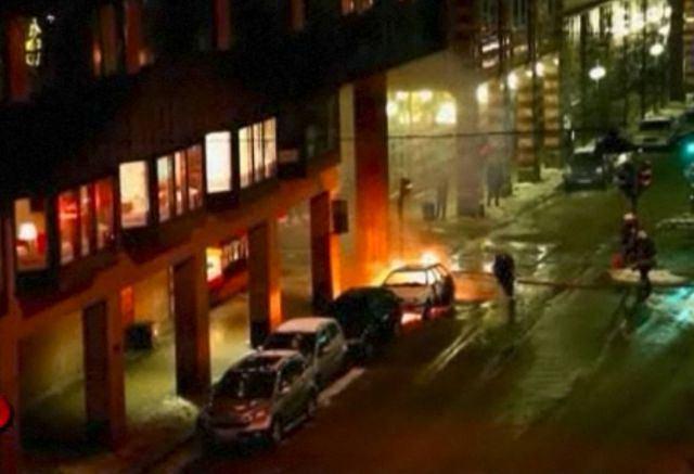 Eksplozja w Sztokholmie