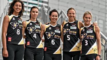 Simona Rinieri (z lewej) jeszcze w koszulce sopockiego Atomu