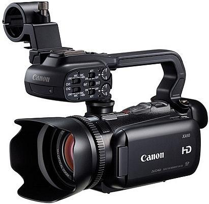 Na zdjęciu Canon XA10