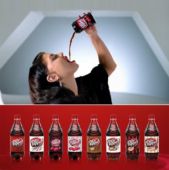 Fergie reklamuje Dr Pepper