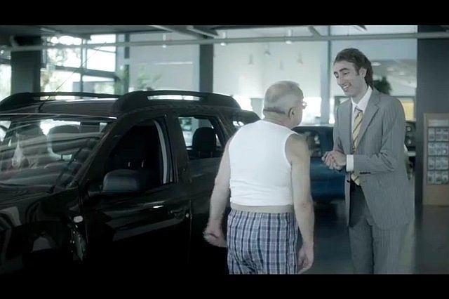 kontrowersyjna reklama Dacii Duster