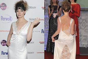 Tamara Arciuch pojawiła się na imprezie, na której można było wylicytować kreacje z programu Taniec z gwiazdami. Aktorka miała na sobie niezwykłą białą suknię, przypominającą koszulę nocną. Jako taka wiele odsłaniała - szczególnie z tyłu. Zobaczcie jak się prezentowała aktorka.
