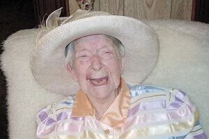 Eunice Sanborn najstarsza kobieta świata