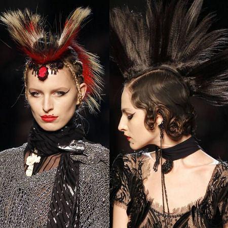 Paryż. Jean Paul Gaultier. Kolekcja wiosna lato 2011
