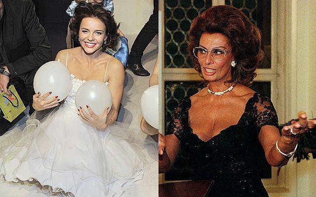 Sophia Loren - to do niej porównuje się Edyta Herbuś