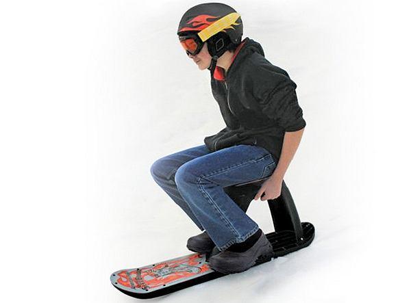 Seated Sled Board - mariaż sanek i snowboardu