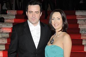 Anna Kalczyńska z mężem.