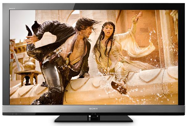 test telewizorów, telewizory lcd, sony