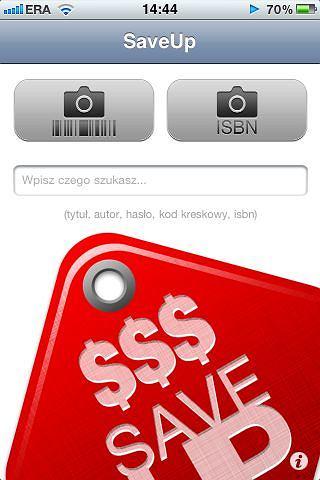 SaveUp - porównywarka cen na iPhone'a