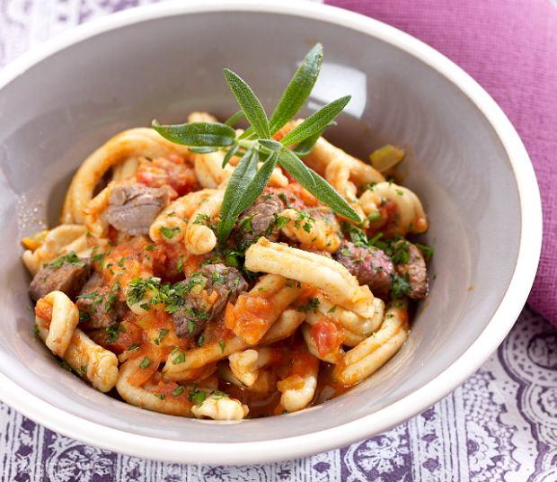 Domowe włoskie makarony