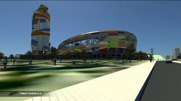 Koncepcja nowego Stadionu Polonii autorstwa Tomas Taveira