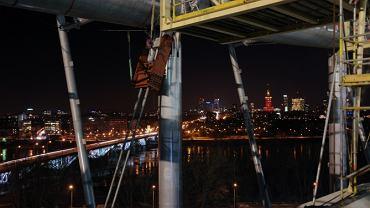 Nocne zdjęcia Stadionu Narodowego - 14 lutego 2011 r.