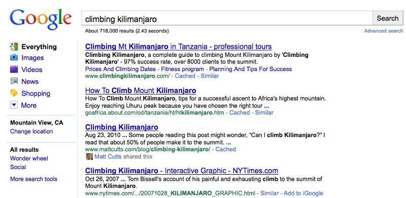 Wyszukiwanie społecznościowe w Google