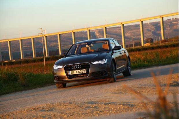 Audi A6 - test   Pierwsza jazda