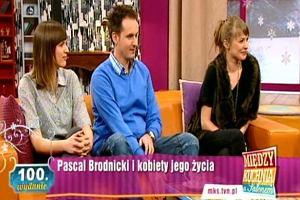 Pascal Brodnicki w Między kuchnią a salonem