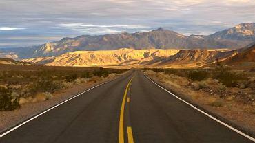 Droga przez Dolinę Śmierci