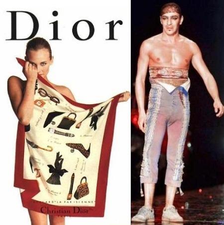 11 lat Johna Galliano w Christian Dior