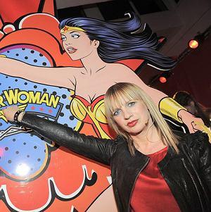 Marzena Rogalska na imprezie MAC Wonder Woman