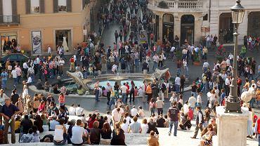 schody hiszpańskie, włochy, rzym, via condoti