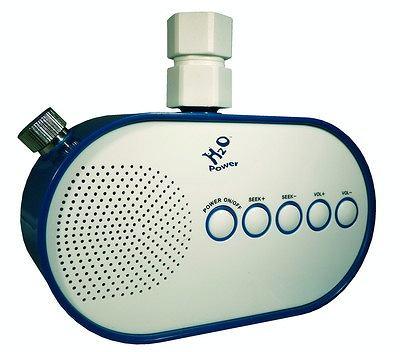 Radio na wodę. Ekologiczne, pomysłowe.