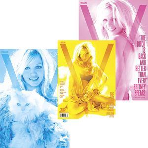 Britney Spears na okładce magazynu V