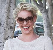 Katherine Heigl out in LA with friends.  Pictured: Katherine Heigl